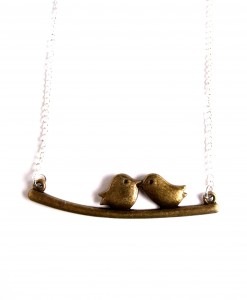 lovebirds bronze