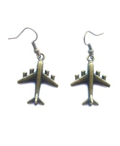 aeroplane earrings