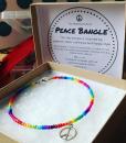 Peace bangle