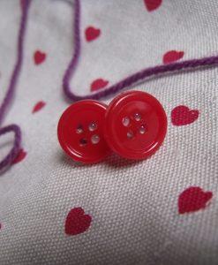 button-earrings