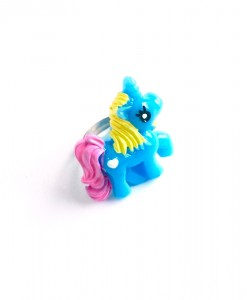 blue unicorn ring