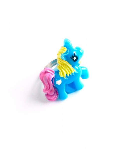 blue unicorn ring