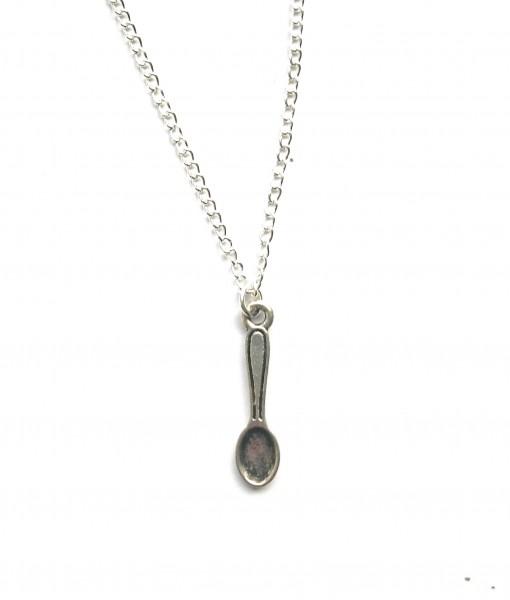 little spoon necklace