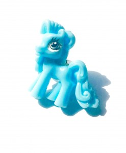 blue ;ittle pony ring