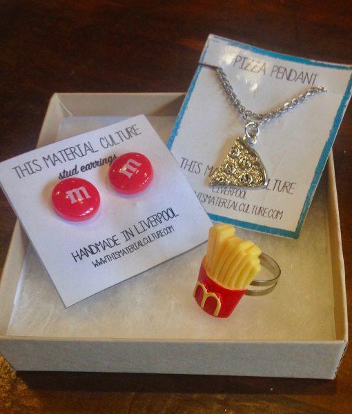 junk food jewellery set