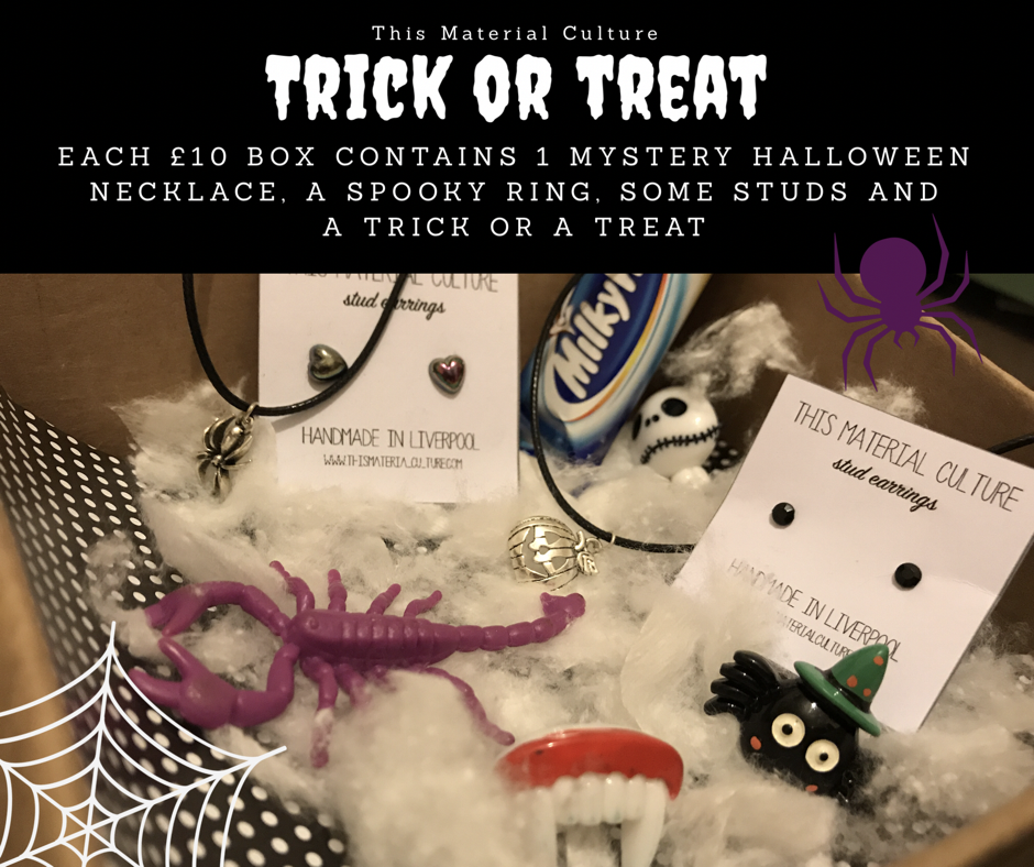 Trick or Treat Halloween Jewellery Parcel