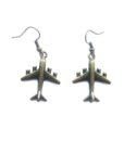 aeroplane earrings